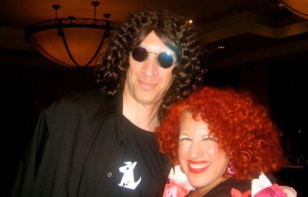 Howard Stern meets Bette Midler