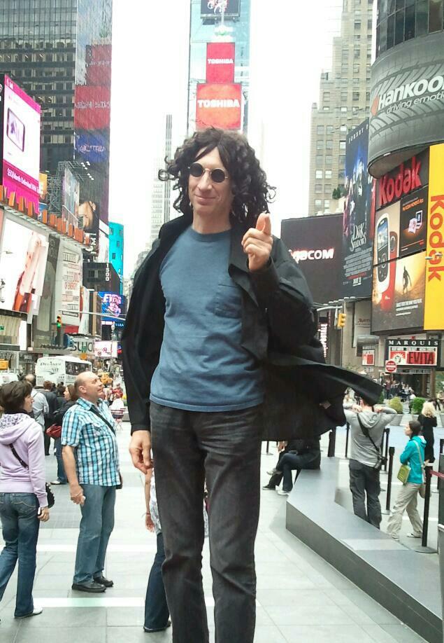 Howard in New York!